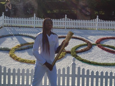 Venus Williams Carries the Torch
