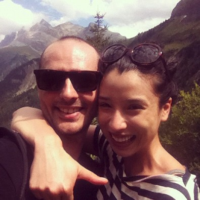 Lily Kwong in Switzerland