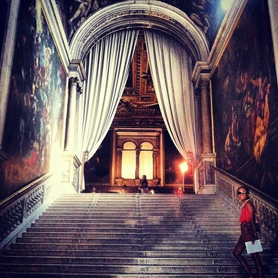 Shala Monroque Visits Italy