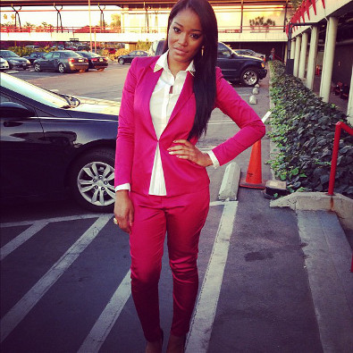 Keke Palmer Suits Up
