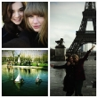 Taylor Swift and Hailee Steinfeld in Paris