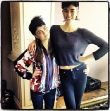 Karlie Kloss Makes Cara Delevingne Look Short