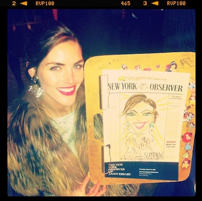 Hilary Rhoda's Cartoon Self
