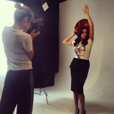 Liv Tyler's Red Nose Day Shoot