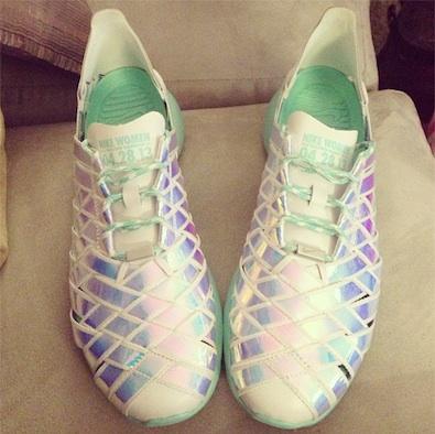 Ellie Goulding's Half Marathon Shoes