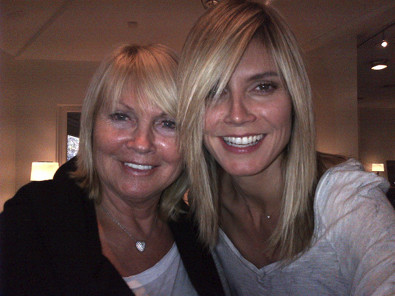 Heidi Klum Gets a Mom Haircut