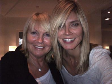 Heidi Klum Gets a Mom Haircut