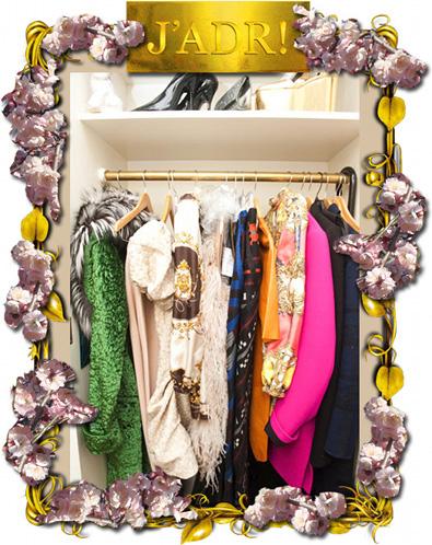 Anna Dello Russo's Closet