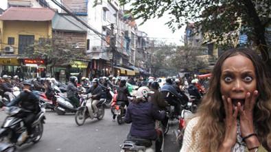 Tyra Banks vs. Vietnam Traffic