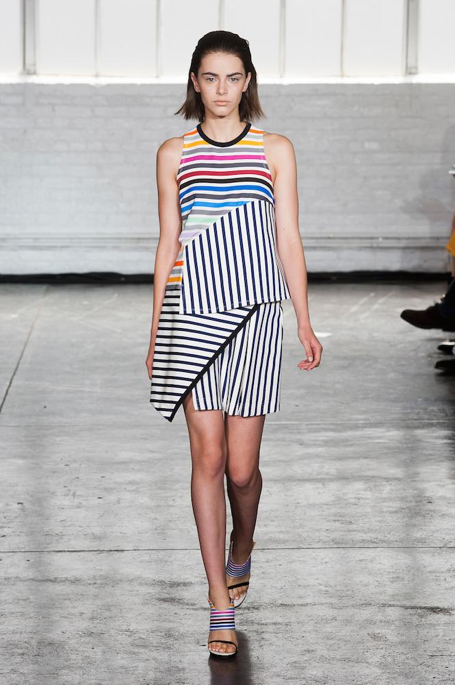Contrasting Stripes (at Tanya Taylor)