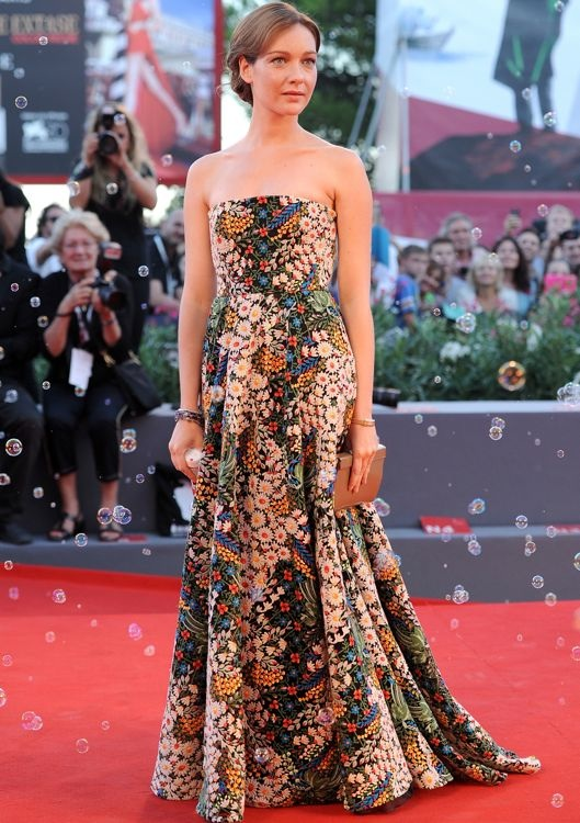 Cristiana Capotondi at the Premiere of The Zero Theorem