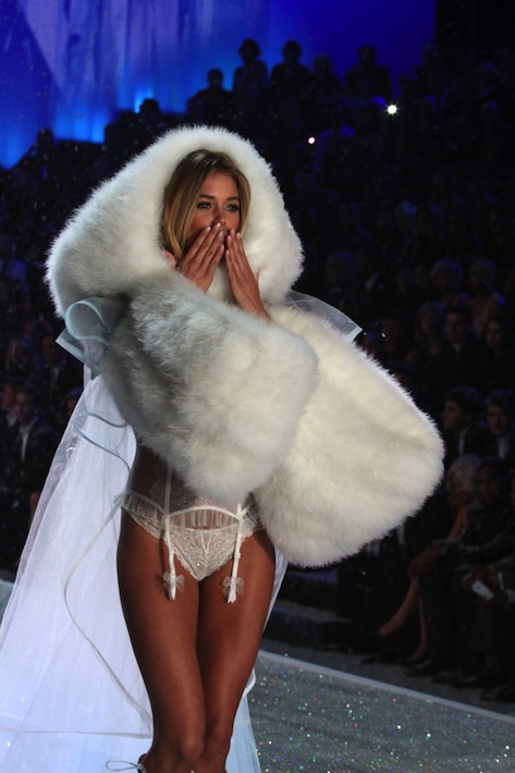 Snowbunny (as modeled by Doutzen Kroes)