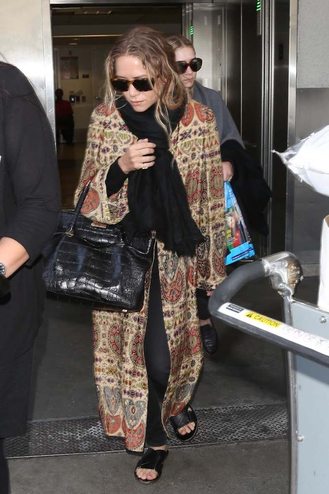 Mary-Kate Olsen at LAX