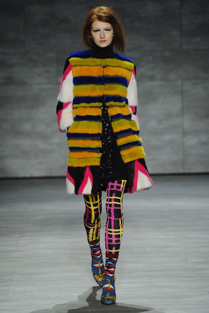 Colored Fur at Libertine