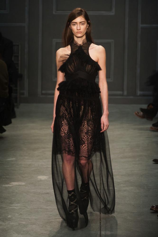 Black Lace at Vera Wang