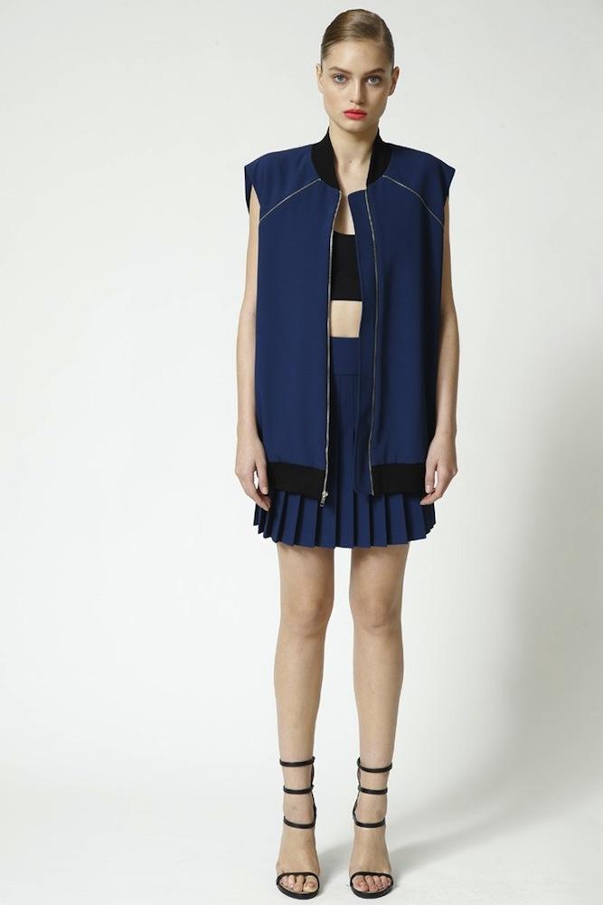 DKNY's Pleated Skirt