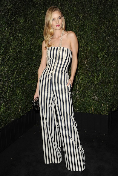 Rosie Huntington-Whiteley in Chanel