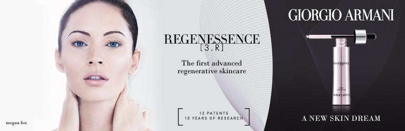 Megan Fox for Giorgio Armani Regenessence