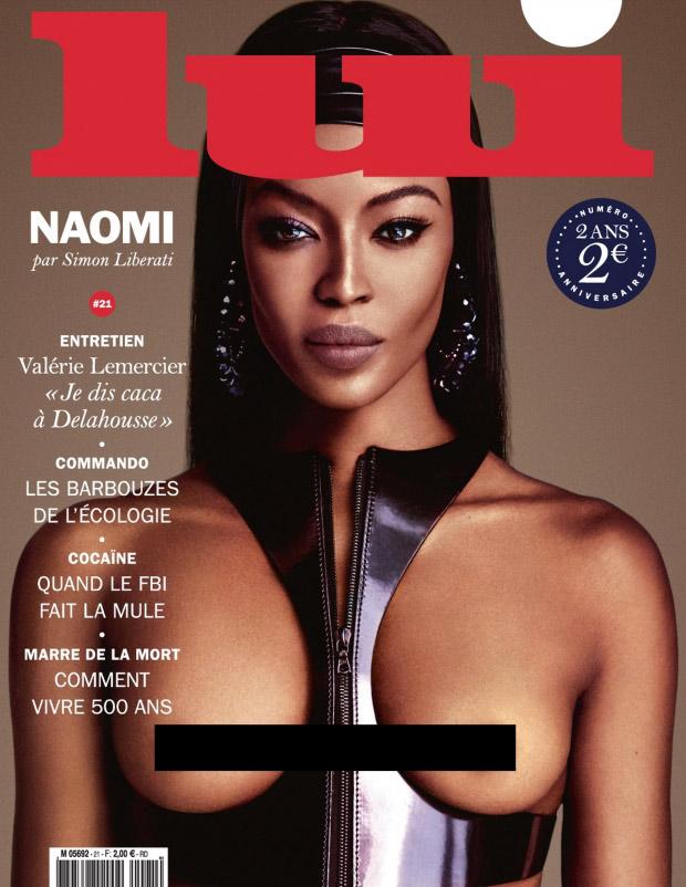 Lui October 2015: Naomi Campbell by Luigi & Iango
