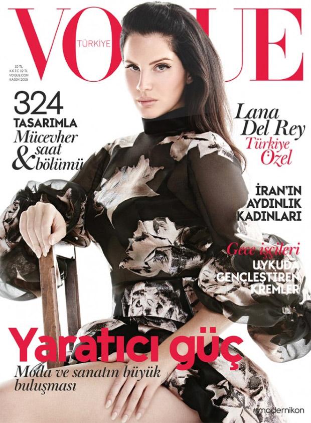 Vogue Turkey November 2015: Lana Del Rey by Liz Collins