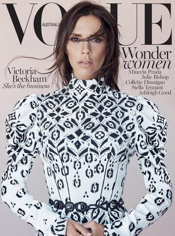 Vogue Australia August 2015: Victoria Beckham by Patrick Demarchelier