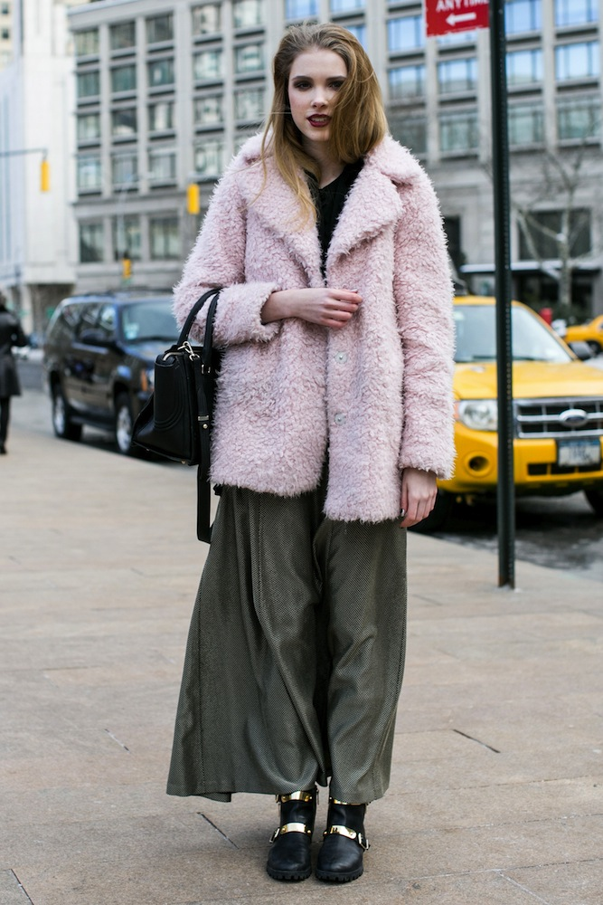 Your Daily Street Style Fix: February 8, 2014