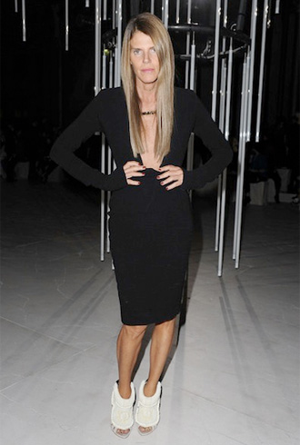 Anna Dello Russo in DW by Kanye