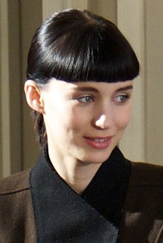 Rooney Mara The Girl With The Dragon Tattoo Photocall Madrid cropped