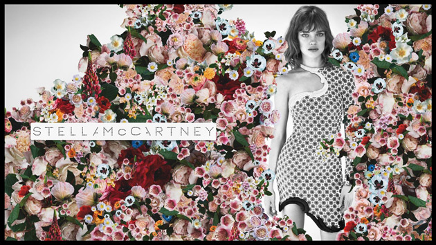 Stella McCartney Spring 2012 ad - Natalia Vodianova by Mert & Marcus