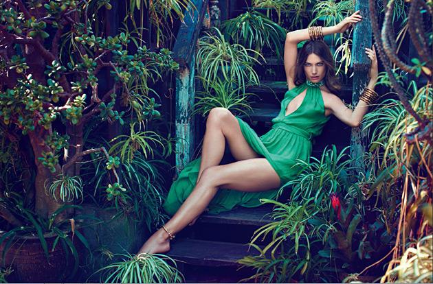 Blugirl Spring 2012 - Jessica Miller by Michelangelo di Battista