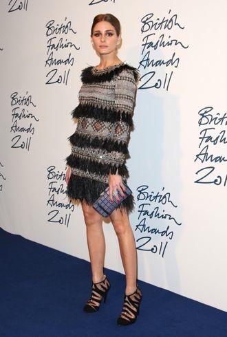 Olivia Palermo The British Fashion Awards 2011 London Nov 2011 cropped