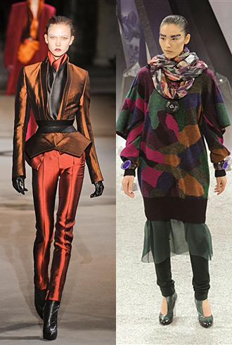 Paris Fashion Week Fall 2012 Hits and Misses - Haider Ackermann & Chanel