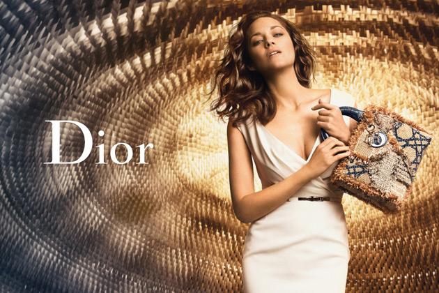 Lady Dior ad - Marion Cotillard by Peter Lindbergh