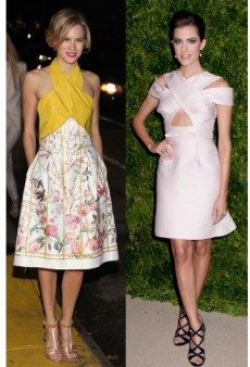 X Marks the Spot: Get Cody Horn's and Allison Williams' Cross-Front Dresses