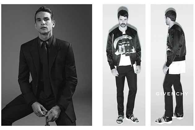 Givenchy Spring 2013 ad campaign photographed by Mert & Marcus