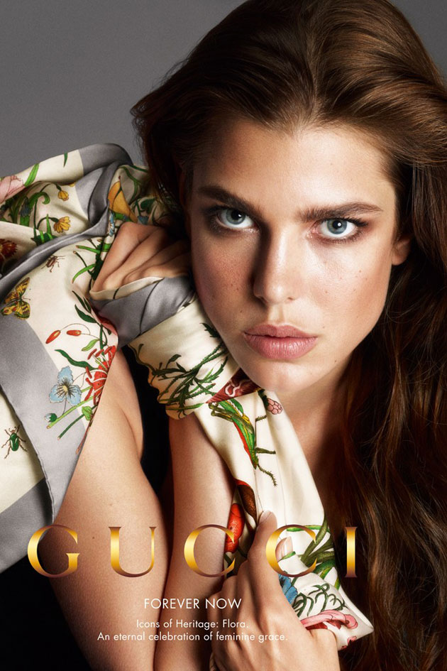 Gucci Forever Now Spring 2013 campaign - Charlotte Casiraghi photographed by Mert & Marcus