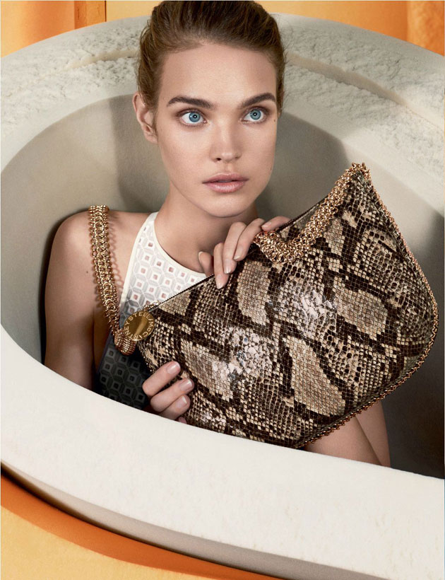 Stella McCartney Spring 2013 featuring Natalia Vodianova