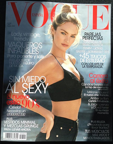Vogue Spain April 2013 - Candice Swanepoel