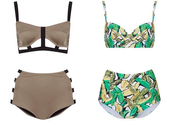 Topshop bikinis