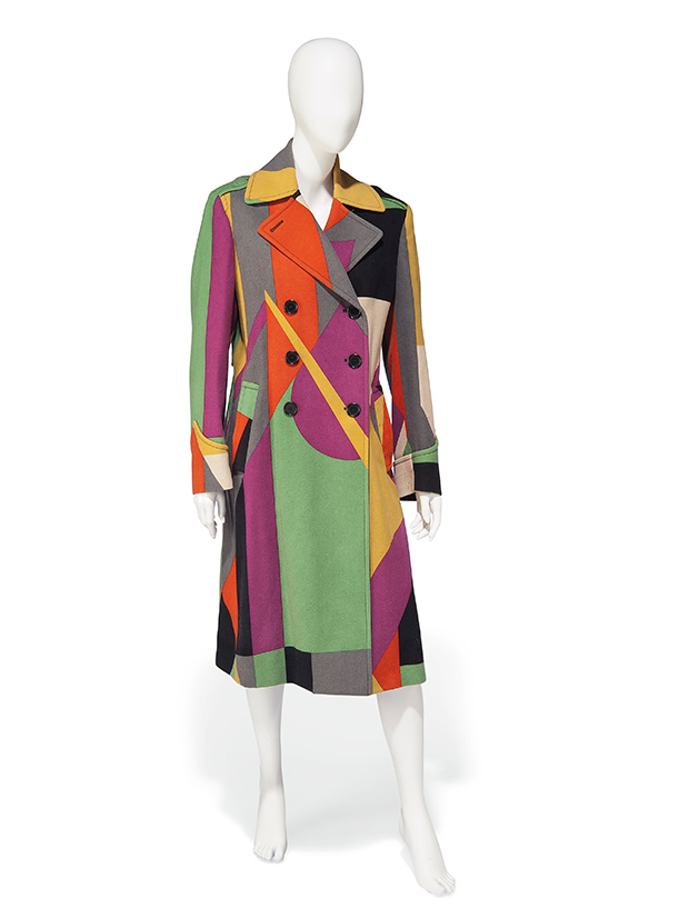 Paul Smith coat / Image via Sunshine Sachs