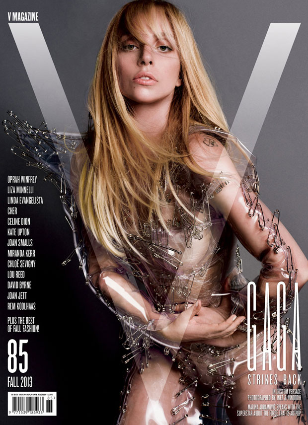 Lady Gaga for V Magazine by Inez & Vinoodh