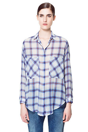 Zara-plaid-top