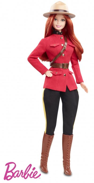RCMP Barbie