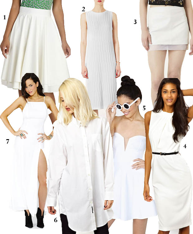 celeb gtl bright white clothing collage