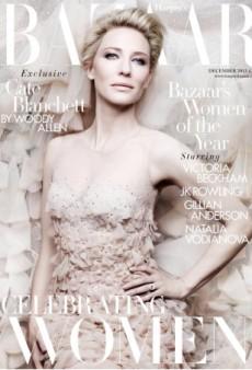 UK Harper's Bazaar Celebrates Women with Cate Blanchett on Its December 2013 Cover (Forum Buzz)