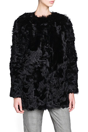 Mango-fur-jacket