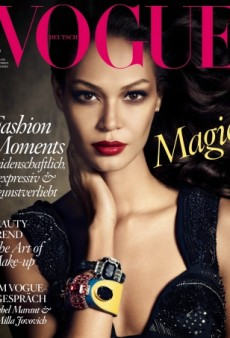 Joan Smalls Scores 3 Major January Covers (Forum Buzz)