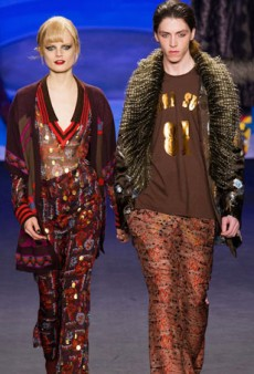 Anna Sui's Eclecticism Shines For Fall 2014 (Runway Review)