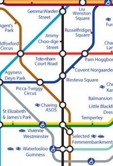 The London Underground Gets a Fashionable Makeover