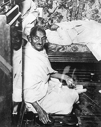Mohondas Karamchand Gandhi india cotton archives